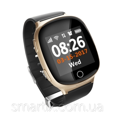 Smart watch Smartix S200 (D100) gold пульсометр