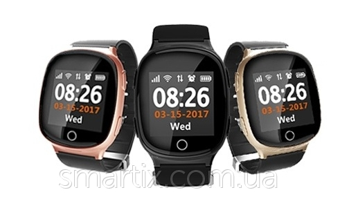 Smart watch Smartix S200 (D100) gold пульсометр - 1
