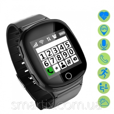 Smart watch Smartix S200 (D100) gold пульсометр - 2
