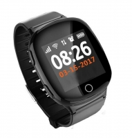 Smart baby watch Smartix S200 (D100) black пульсометр