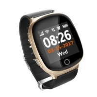 Smart baby watch Smartix S200 (D100) gold пульсометр