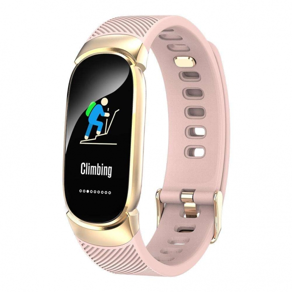 Smart band Smartix QW16 tonometr pink