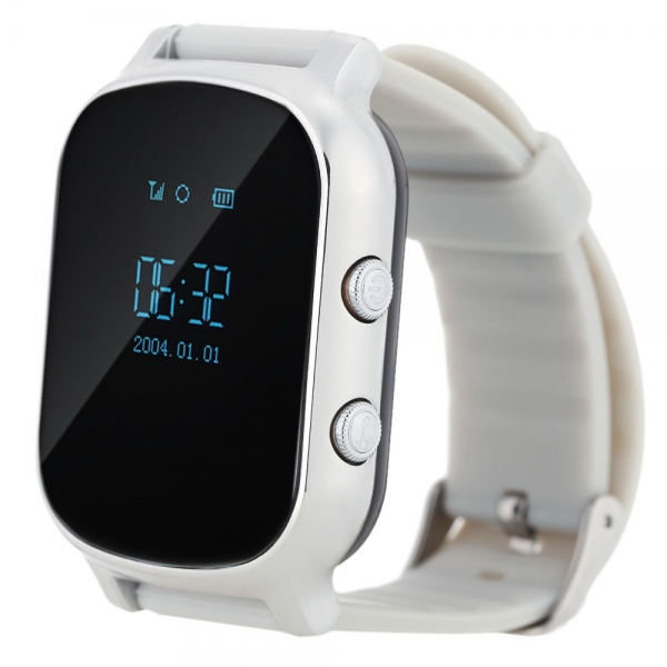 Смарт-часы с GPS smart watch Smartix T58 серебро